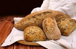 Pão e rolos Imagens de Stock