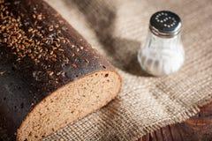 Pão e sal Foto de Stock