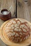 Pão e sal da casa da quinta Fotos de Stock