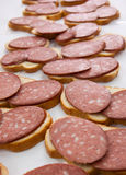 Pão e salsicha Imagem de Stock Royalty Free