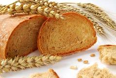 Pão e trigo Foto de Stock