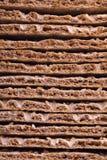 Pão estaladiço imagem de stock