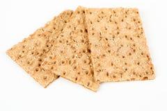 Pão estaladiço com sésamo Imagens de Stock