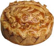 Pão festivo ucraniano 3 imagens de stock