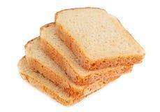 Pão fresco cortado imagem de stock