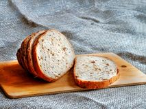 pão Fresco-cozido Fotografia de Stock