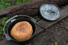 Pão fresco do amortecedor da cerveja imagem de stock