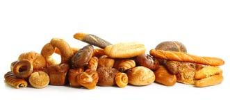 Pão fresco isolado Foto de Stock Royalty Free