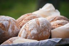 Pão fresco no pergaminho Imagem de Stock Royalty Free