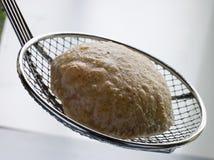Pão fritado do sopro em um filtro fotos de stock royalty free