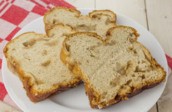 Pão holandês tradicional do açúcar Fotografia de Stock