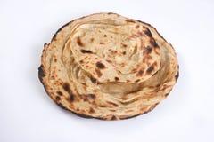 Pão indiano ou Lachha Paratha fotografia de stock