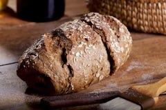Pão integral inteiro Foto de Stock Royalty Free