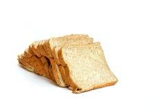 Pão integral inteiro isolado no branco Imagem de Stock Royalty Free