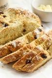 Pão irlandês da soda/dia de St Patrick alimento imagens de stock royalty free