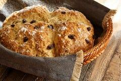 Pão irlandês da soda/dia de St Patrick alimento imagens de stock