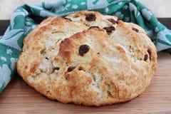 Pão irlandês da soda, macro Imagens de Stock Royalty Free