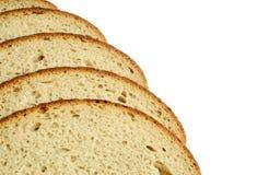 Pão isolado em um fundo branco Imagem de Stock Royalty Free