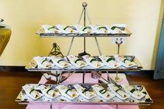 Pão liso do sul com pato de assado Fotos de Stock Royalty Free