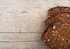 Pão marrom da grão inteira Foto de Stock