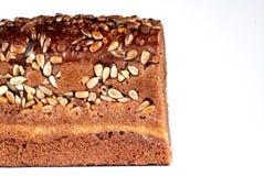 Pão marrom escuro Imagens de Stock Royalty Free