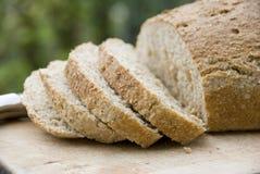 Pão marrom saudável Fotos de Stock