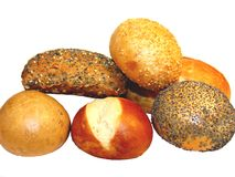 Pão misturado Fotos de Stock