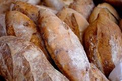 Pão na tenda do mercado de rua Foto de Stock Royalty Free