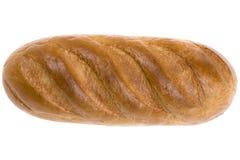 Pão no branco fotografia de stock royalty free