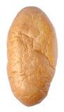 Pão no fundo branco Fotografia de Stock