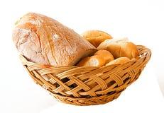 Pão no trug imagem de stock