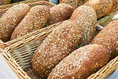 Pão orgânico Imagem de Stock