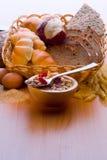 Pão, planta do cereal, massa Pão, planta do cereal, Fotografia de Stock