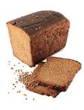 Pão preto. Foto de Stock
