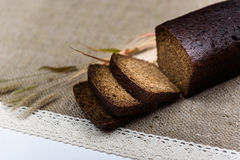 Pão preto Imagens de Stock