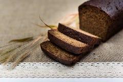 Pão preto Imagens de Stock Royalty Free