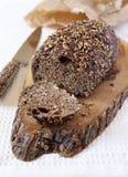 Pão preto francês Imagem de Stock