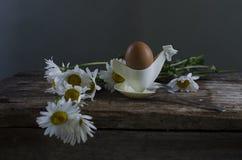 Pão, queijo e ovos Imagens de Stock Royalty Free