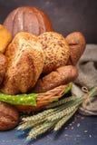 Pão recentemente cozido Fotografia de Stock Royalty Free