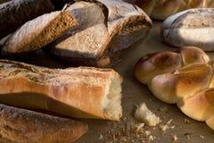 Pão recentemente cozido delicioso Imagens de Stock Royalty Free