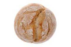 Pão redondo do trigo branco Foto de Stock Royalty Free