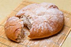 Pão redondo fresco Imagem de Stock Royalty Free