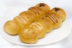 Pão redondo longo Fotos de Stock