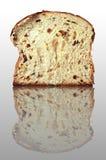 Pão rico na superfície do espelho Fotografia de Stock
