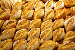 Pão Rolls 3 Foto de Stock