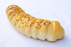 Pão Shredded lagarta do queijo Fotos de Stock