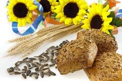 Pão três whole-grain Imagens de Stock Royalty Free