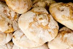 Pão tradicional da área mediterrânea Fotos de Stock Royalty Free
