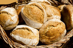 Pão tradicional de spain mediterrâneo Foto de Stock Royalty Free