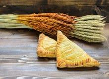 Pão, trigo, cevada, Fotos de Stock